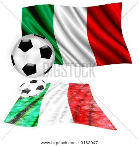 Football Flag Italy