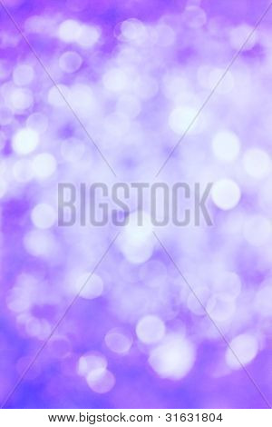 Abstract Purple Defocussed Lights Background