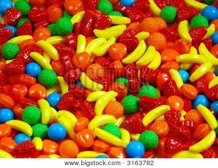 Caramelo de la fruta