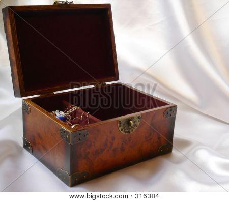 Koffer met waardevolle