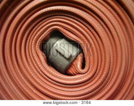 Fire Hose Rolled Up