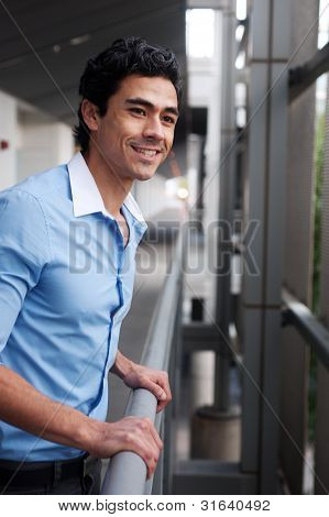 Young, Handsome Latino Professional Businessman