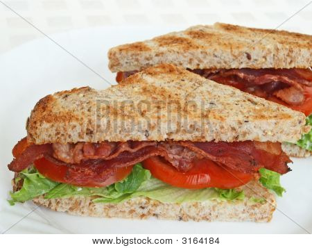 Toasted Blt Sandwich