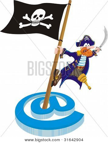 piracy - mail