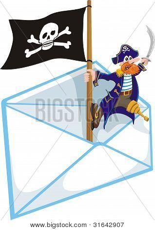 piracy - mailbox