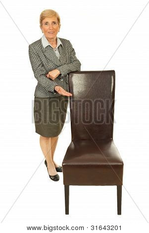 Senior Executive Invite You To Sit
