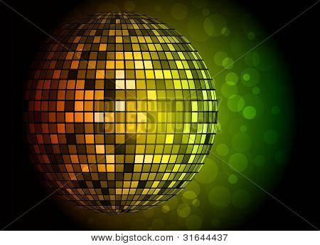 Disco Ball. Vector Illustration