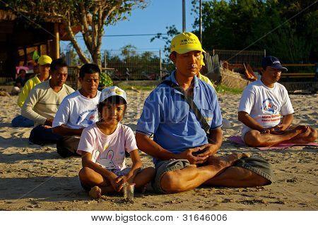 Estudantes de Falun Gong