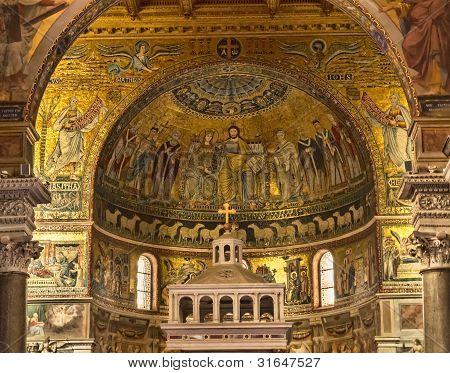 Basílica de St Maria en Trastevere en Roma