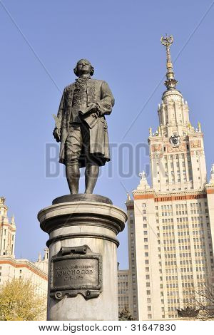 Lomonosov Monument