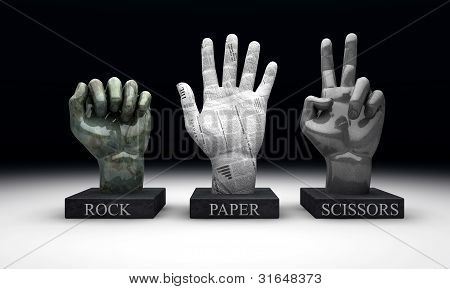 Roshambo - Rock Paper Scissors