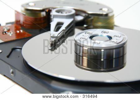 Hard Disk Close Up 2