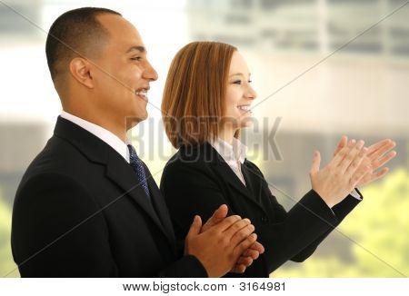 Hand klatschen