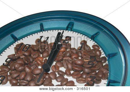 Wall Clock Coffe Break