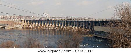 Spillway Of River Dam