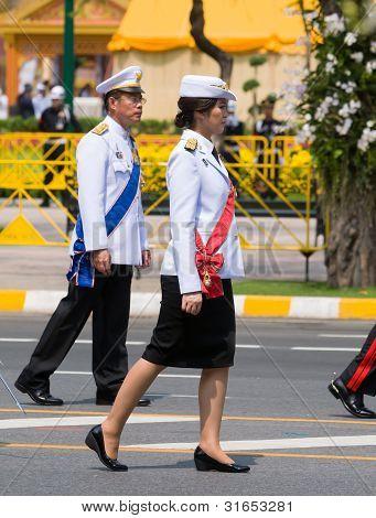 Royal Funeral In Bangkok, April 2012