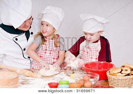 Chef With Children