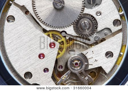 Old Metal Clockwork