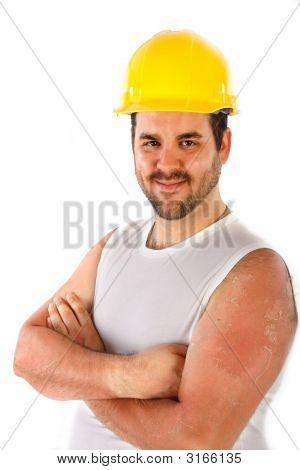 Construction Worker Portrait