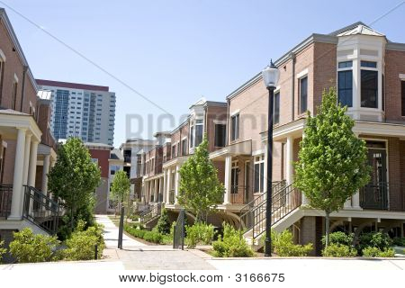 Brick Townhouses