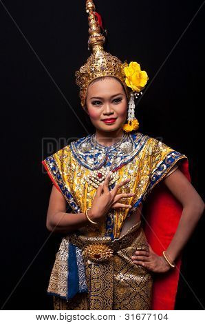 Khon-thai Classical Masked Ballet , Thailand. Ramayana
