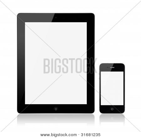 Apple Ipad3 com Apple Iphone4S