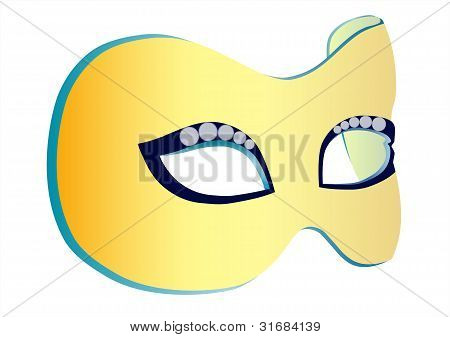 Theater mask, vector