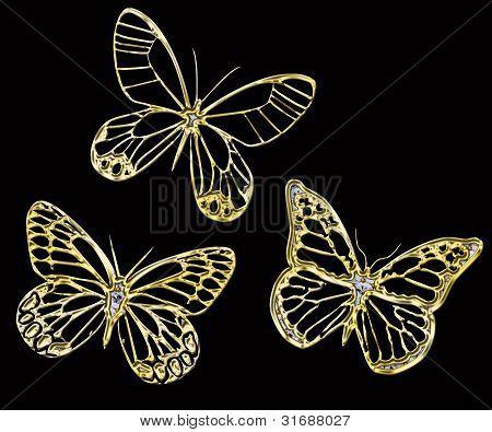 Ornamental Butterfly