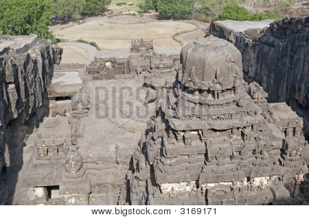 Hindu Rock Temple