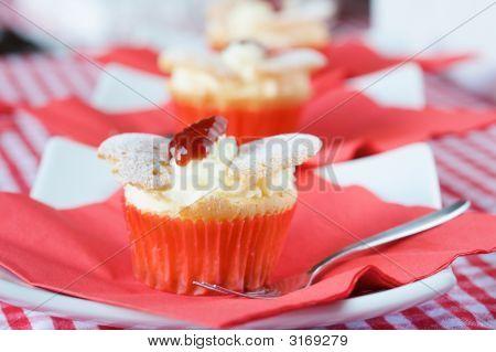 Delicioso Cupcake com chantilly