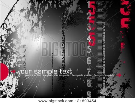 Abstract digital background. Vector illustration.
