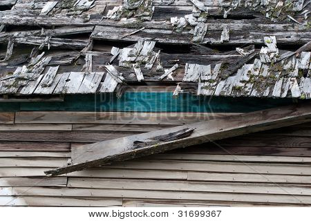 Old Run Down Roof.