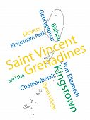 Saint Vincent And The Grenadines Map And Cities