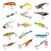 Fishing Baits Collection