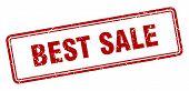 Best Sale Stamp. Best Sale Square Grunge Sign. Best Sale poster