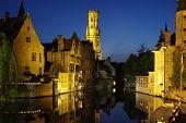 Rozenhoedkaai, One Of The Landmarks Of Bruges poster