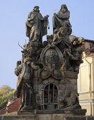 Постер, плакат: Статуи Святого Иоанна Феликс и Иван