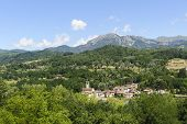 Small Town In Garfagnana (tuscany)