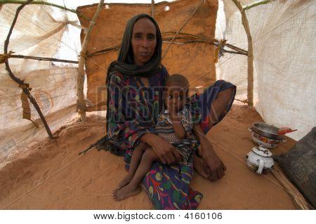 Mother In Darfur