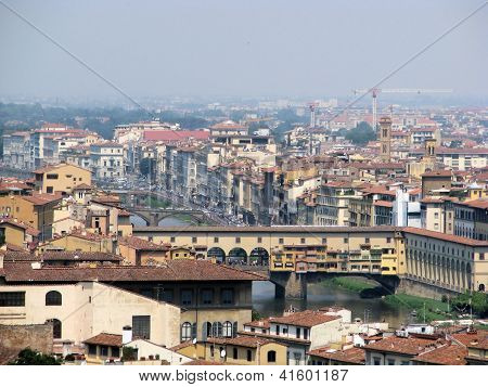 Ponte Vecchio In Florenc, Italy