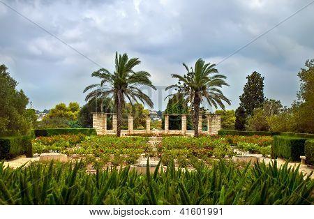 Gardens Of Baron Edmond De Rothschild (park Ramat Hanadiv)