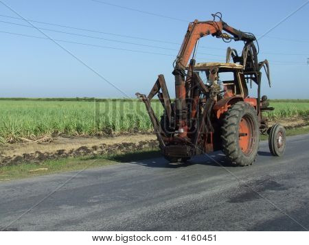 Sugar Cane Tractor