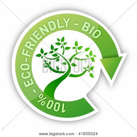 Organic Sign Tree Cycle