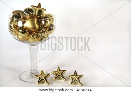Golden Ornament Champagne