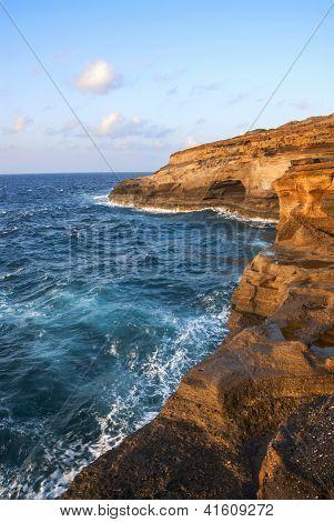 Pyroclastic Sea Cliffs