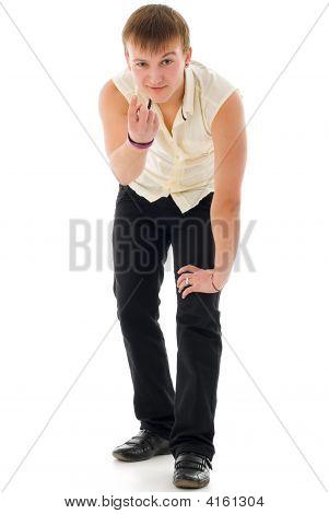 Tecktonik Dancer