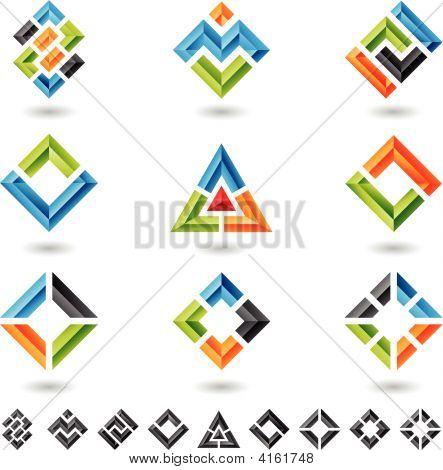 3D Design Elements Set