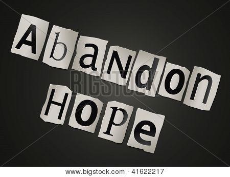 Abandon Hope.
