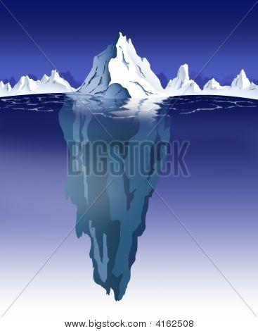 Iceberg Nighttime