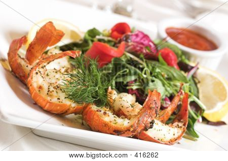 Shrimps-Salat